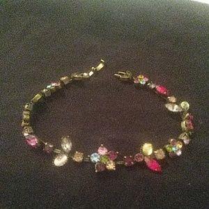Vintage multi color bracelet
